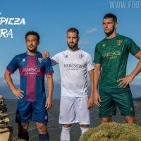 Camisetas de Local, Visitante y Alternativa del Huesca 2020-2021