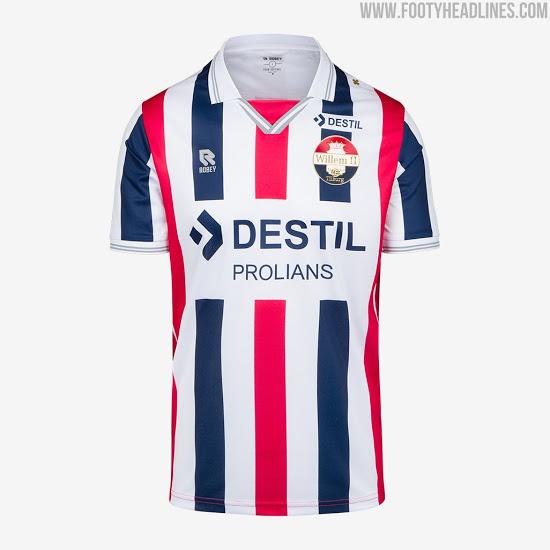 Camisetas de Local, Visitante y Alternativa del Willem II 2020-2021