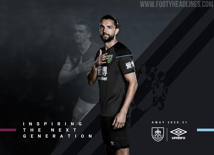 Camiseta de Visitante del Burnley 2020-2021
