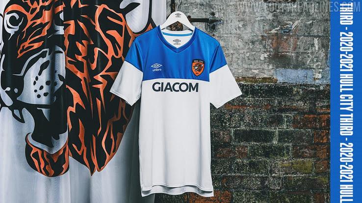 Camiseta de Local, Visitante y Alternativa del Hull City 2020-2021