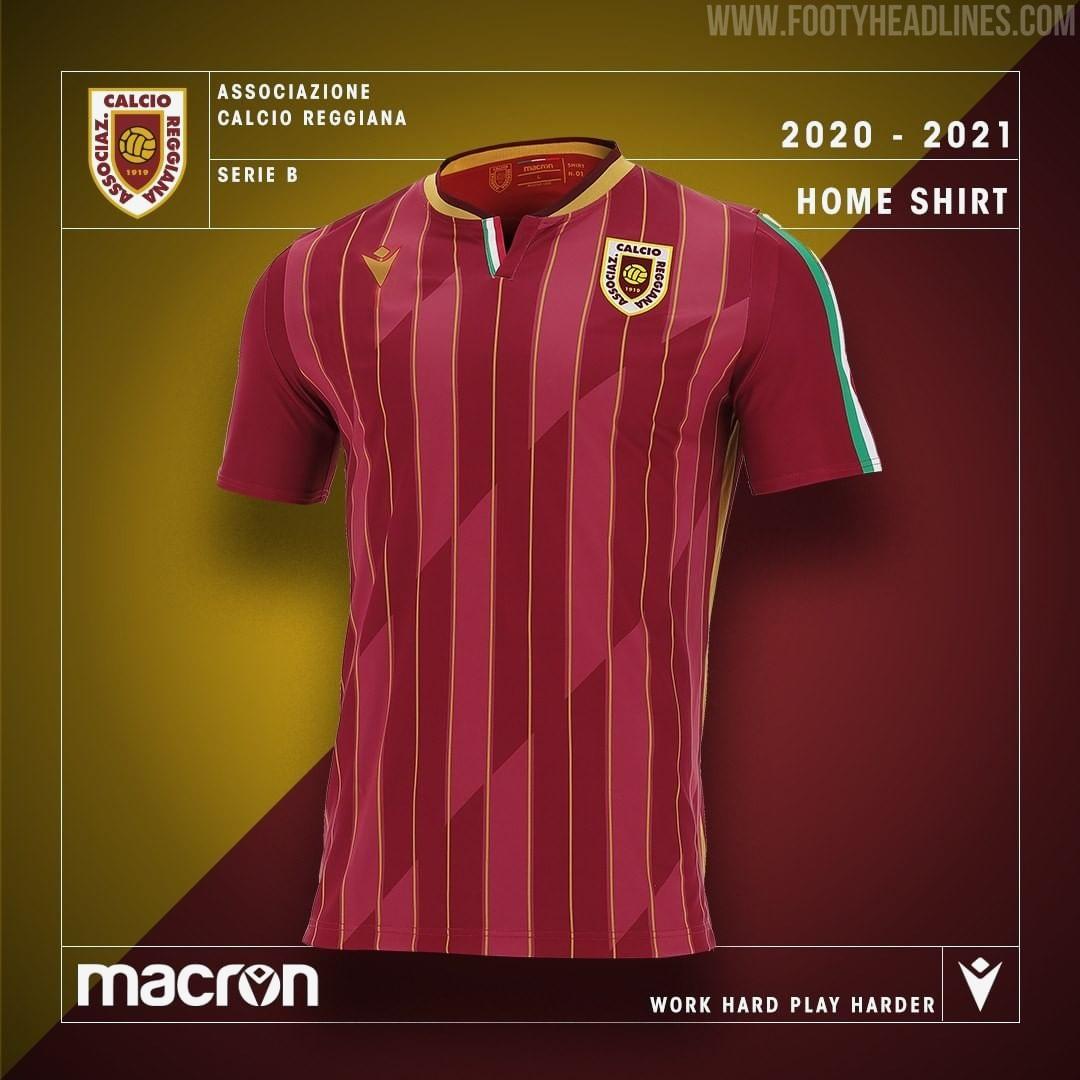 Camisetas de Local y Visitante del Reggiana 2020-2021