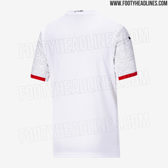 Camisetas de Local y Visitante de Egipto 2020 - 2021