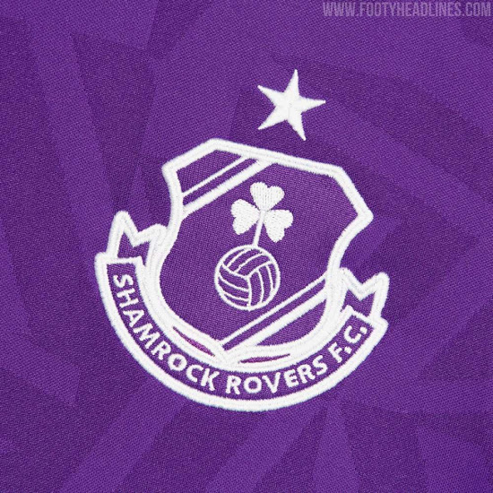 Camiseta de visitante del Shamrock Rovers 2020-2021
