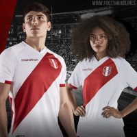 Camisetas de Local y Visitante de Peru 2020