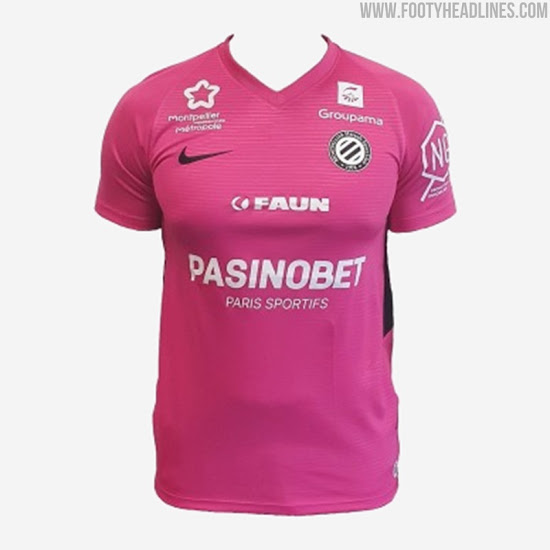 Camiseta Especial del Montpellier 2020-2021 Rosa de Octubre
