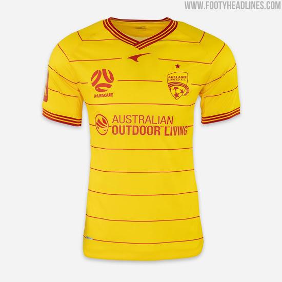 Camiseta de Visitante del Adelaide United 2020-2021