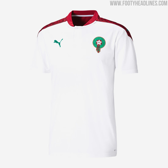 Camisetas de Local y Visitante de Marruecos 2020-2021