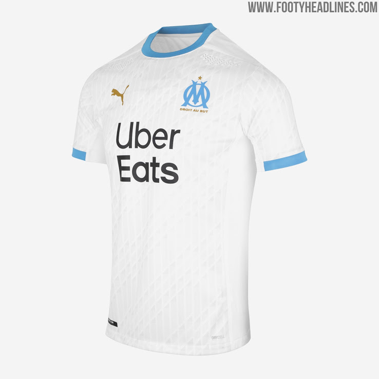 Camiseta de Local del Olympique Marseille 2021-2022
