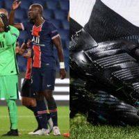 Keylor Navas Debuta con las Botas Adidas Predator Personalizadas – Color Negro
