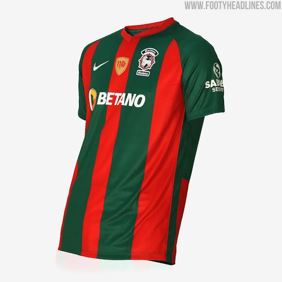 Camisetas de Local y Visitante del Maritimo Madeira 2020-2021
