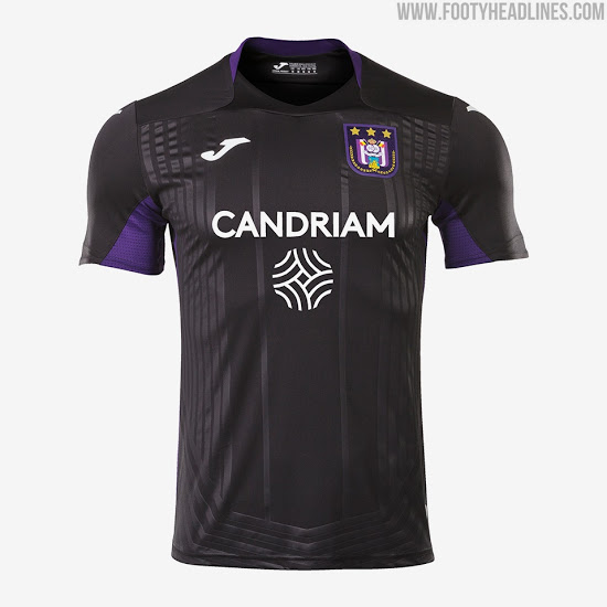 Camiseta Alternativa del RSC Anderlecht 2020-2021