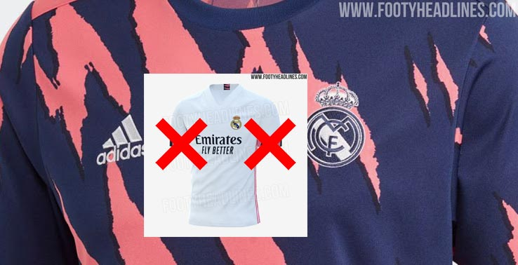 Camiseta Pre-Partido del Real Madrid 2021 'Scrapped'