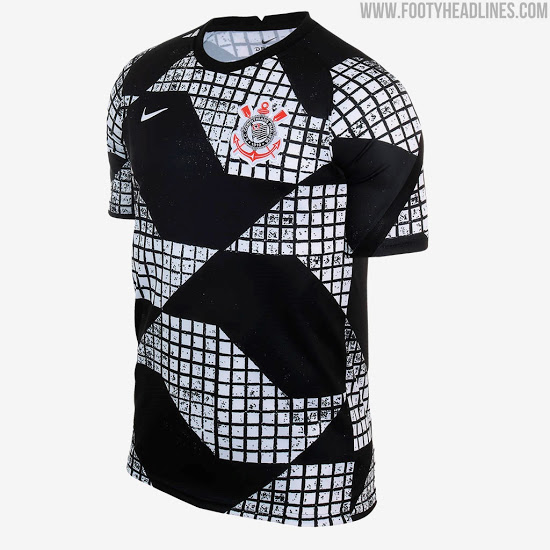 Camiseta Pre-Partido del Corinthians 2021