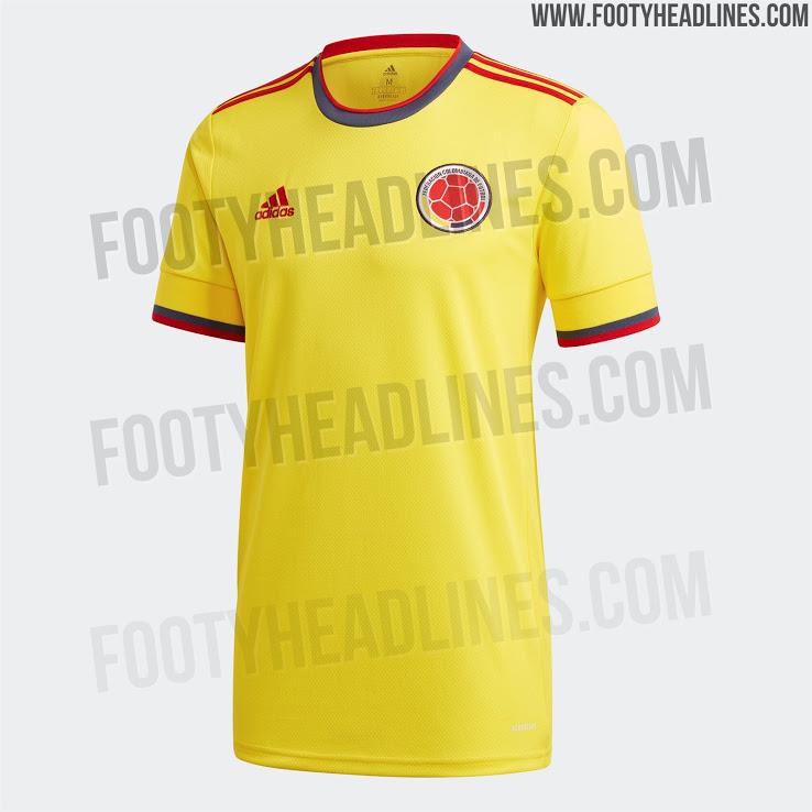 Camiseta Local de Colombia 2020-2021