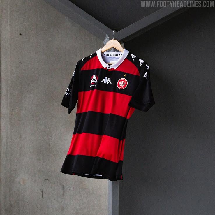 Tercera Camiseta del Western Sydney Wanderers 2020-2021