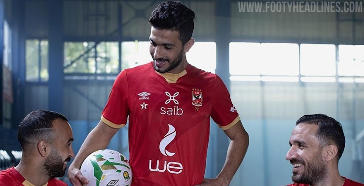 Camisetas de Local, Visitante y Alternativa del Al Ahly 2020-2021