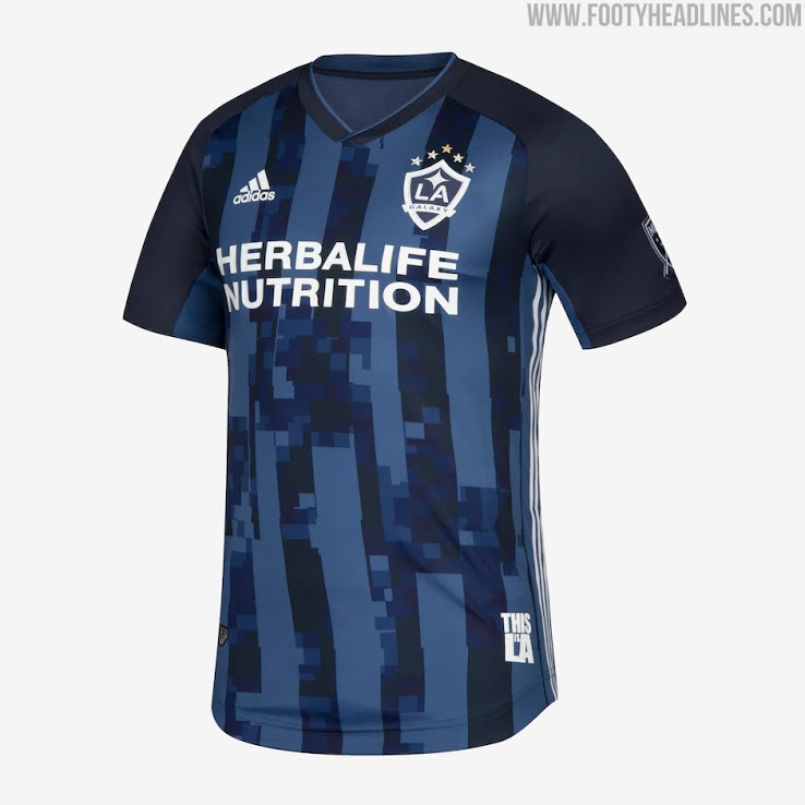 Color de la Camiseta de Visitante del LA Galaxy 2021