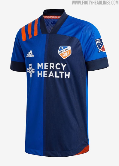 Color del Uniforme de Local del FC Cincinnati 2021