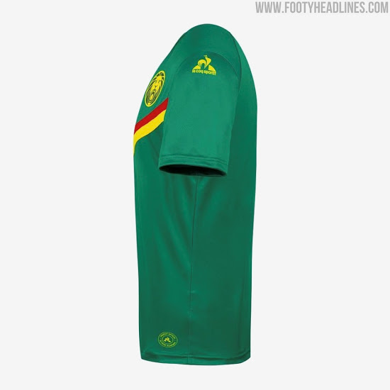 Camisetas de Local y Visitante de Camerún 2021