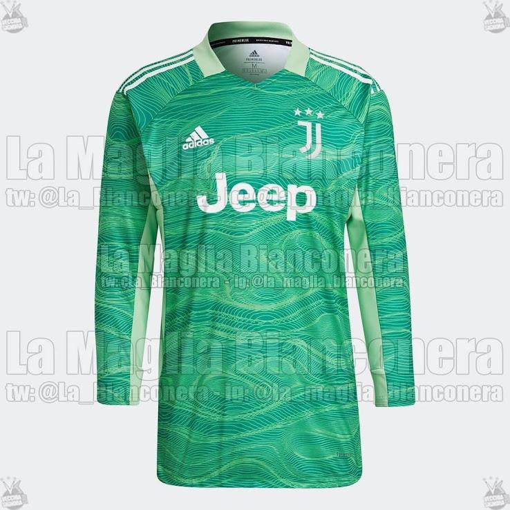 Camiseta de Portero de la Juventus 2021-2022