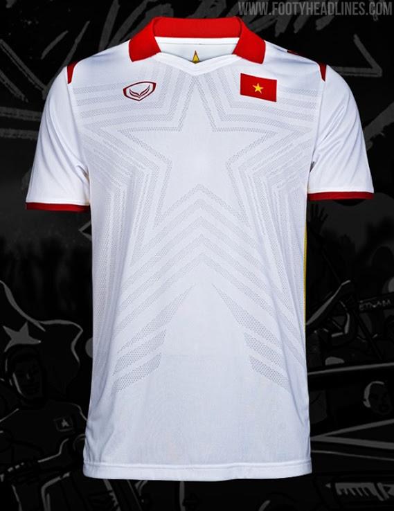 Camisetas de Local, Visitante y Portero de Vietnam 2021