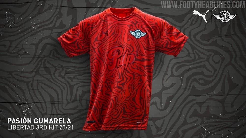 Tercera Camiseta del Club Libertad 2021