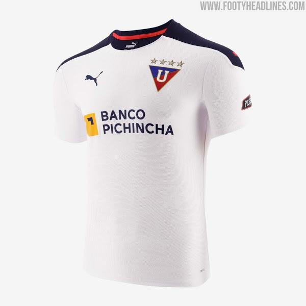 Camisetas de Local, Visitante y Alternativa del LDU Quito 2021