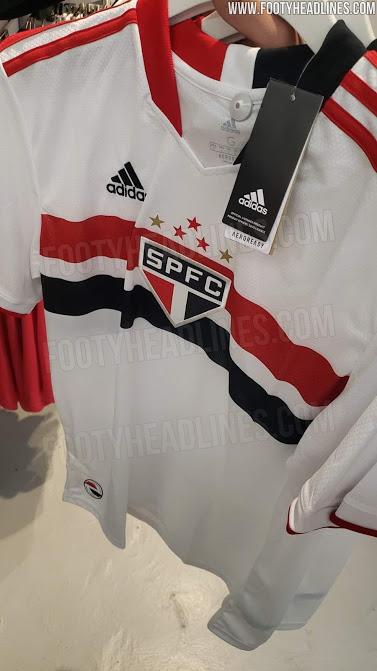 Camiseta de Local del São Paulo 2021 - Nuevas Fotos