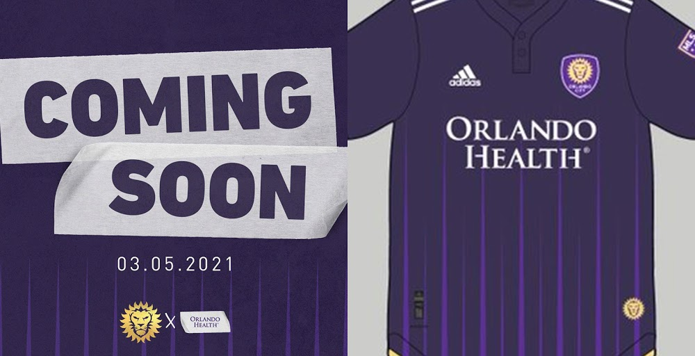 Camiseta de Local del Orlando City 2021
