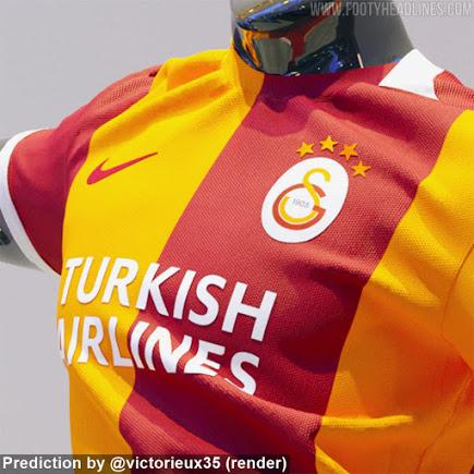Camiseta de Local del Galatasaray 2021-2022