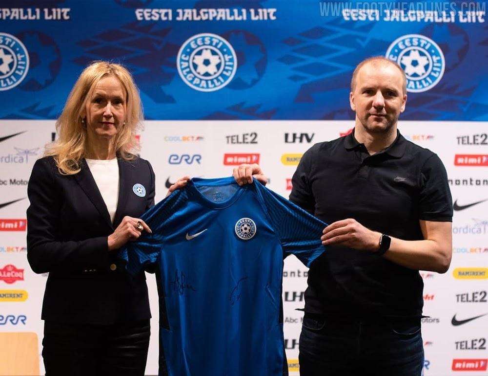 Camiseta de Local de Estonia 2021