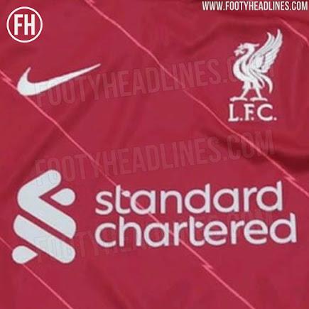Camiseta de Local del Liverpool 2021-2022