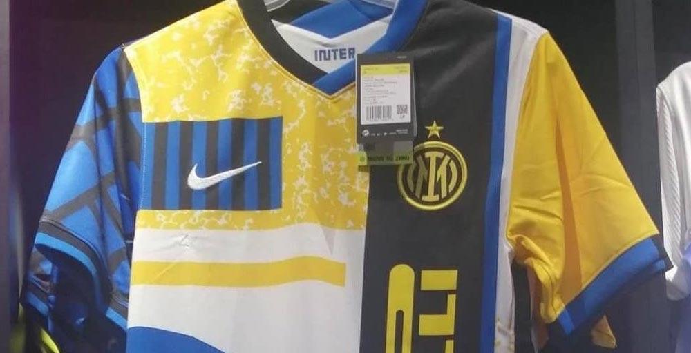 Cuarta Camiseta del Inter de Milán 2020-2021 - Nuevo Logo