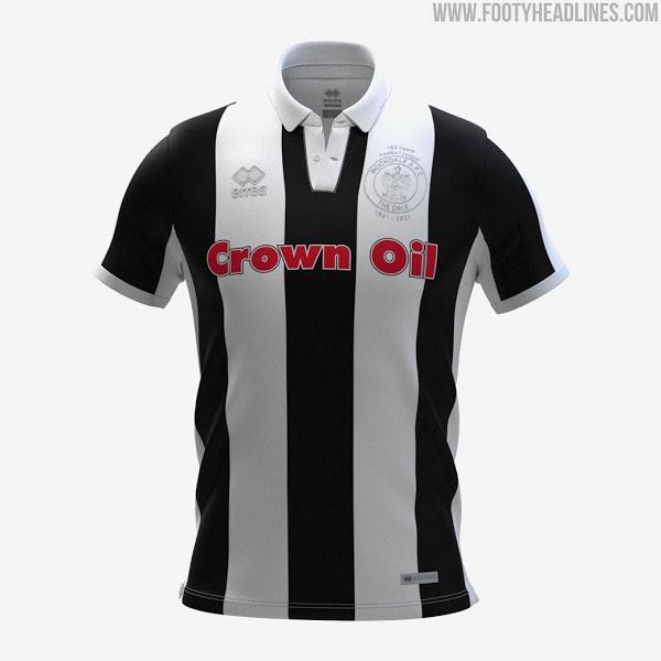 Camisetas de Local, Visitante y Tercera del Rochdale 2021-2022
