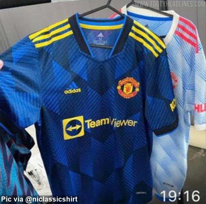 Camisetas de Local, Visitante y Alternativa del Manchester United 2021-2022