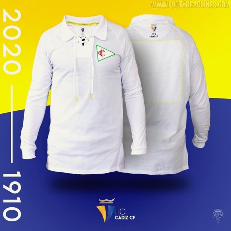 Camiseta 110 años de Aniversario del Cádiz FC