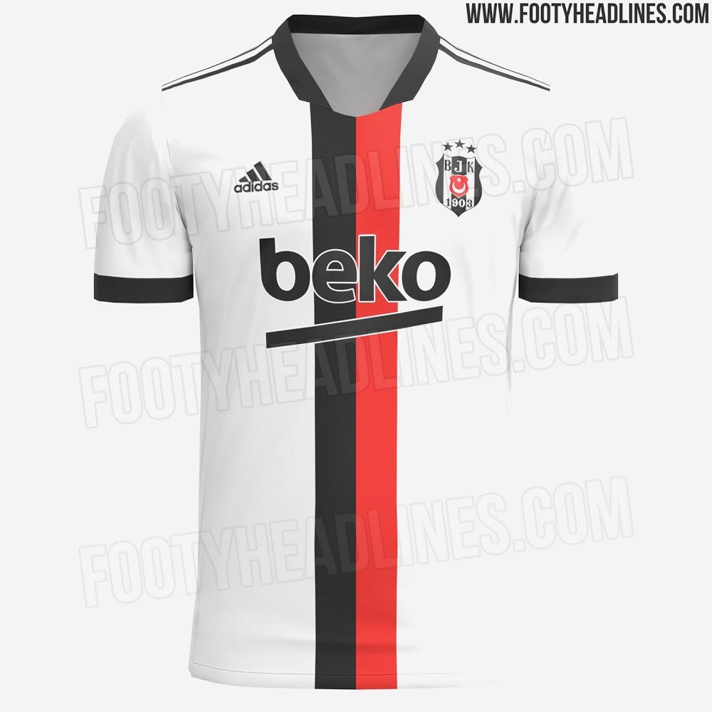 Camiseta de Local del Besiktas 2021-2022