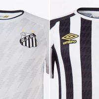 Camisetas de Local y  Visitante del Santos 2021-2022