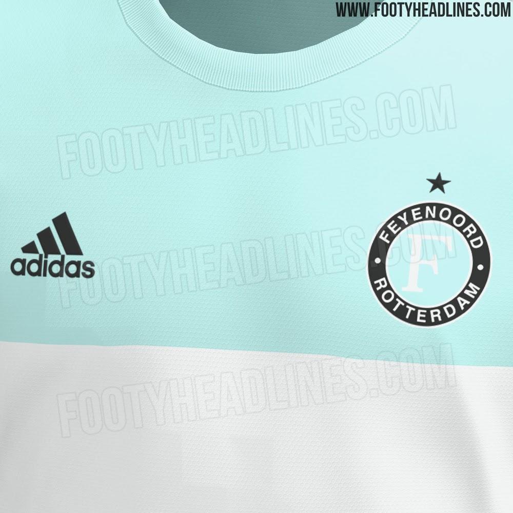 Camiseta de Visitante del Feyenoord 2021-2022