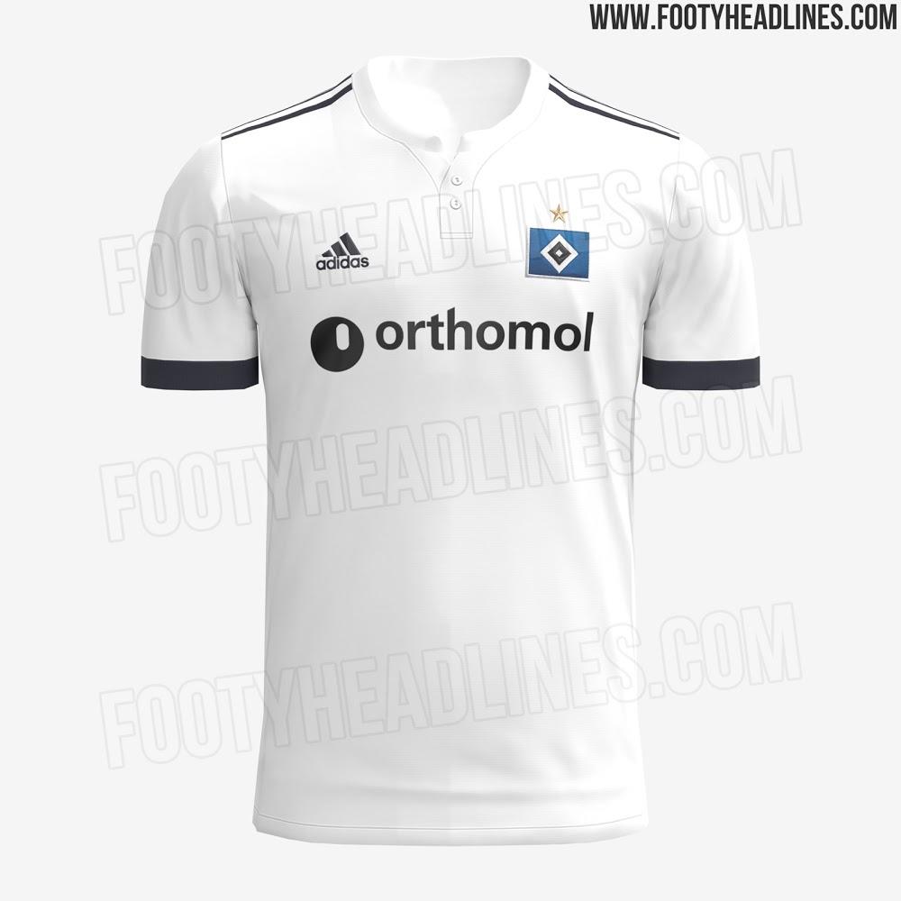 Camiseta de Local del Hamburgo 2021-2022
