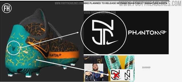 Se filtran las botas Nike Phantom GT 2021 Signature de Naymar, que nunca saldrán a la venta