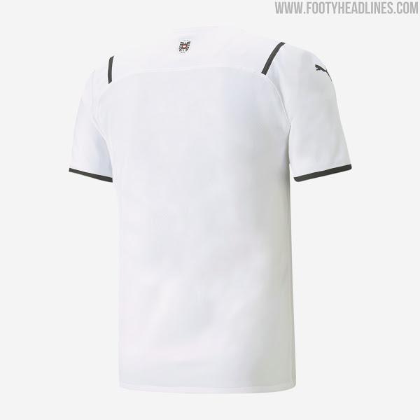 Camiseta de Visitante y Portero de Austria 2021-2022