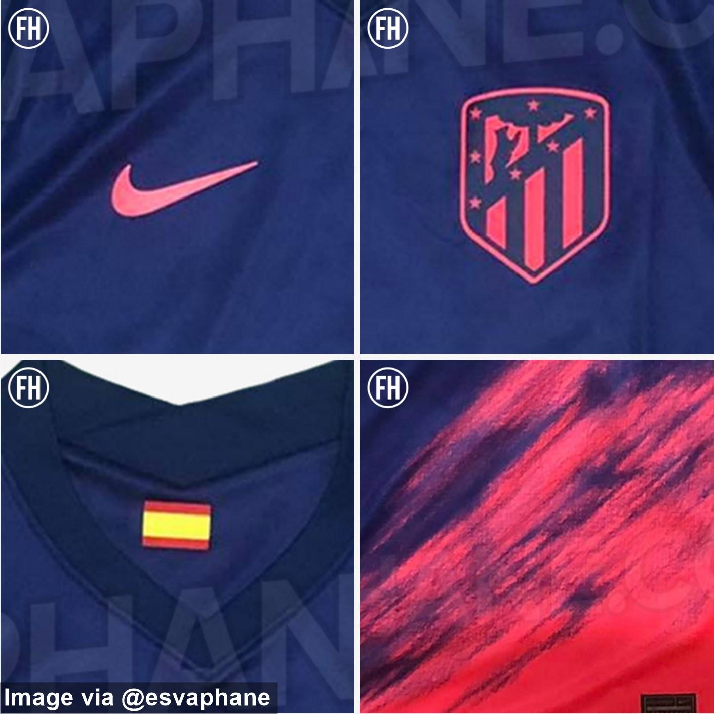 Camiseta de Visitante del Atlético de Madrid 2021-2022