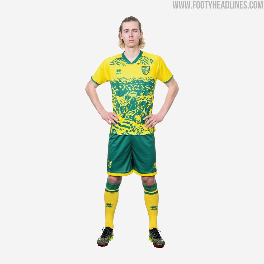 Camiseta Edición Especial del Norwich City 2020-2021