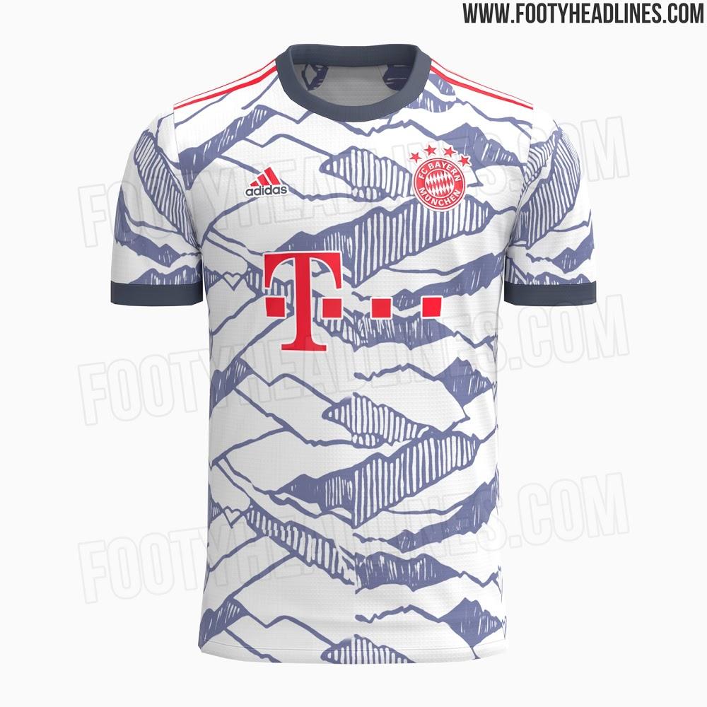 Tercera Camiseta del Bayern de Múnich 2021-2022