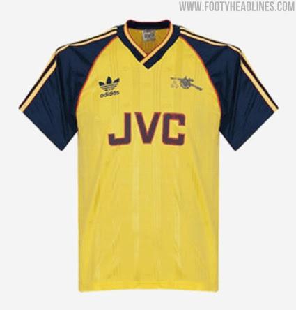Camiseta de Visitante del Arsenal FC 2021-2022 con fotos oficiales