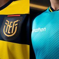 Camisetas de Local y Visitante de Ecuador 2021 – Copa America