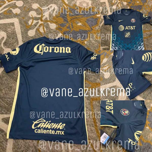 Camiseta de Visitante del Club América 2021-2022