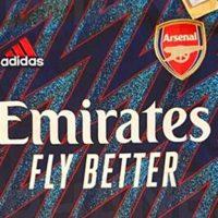 Tercera Camiseta del Arsenal FC 2021-2022