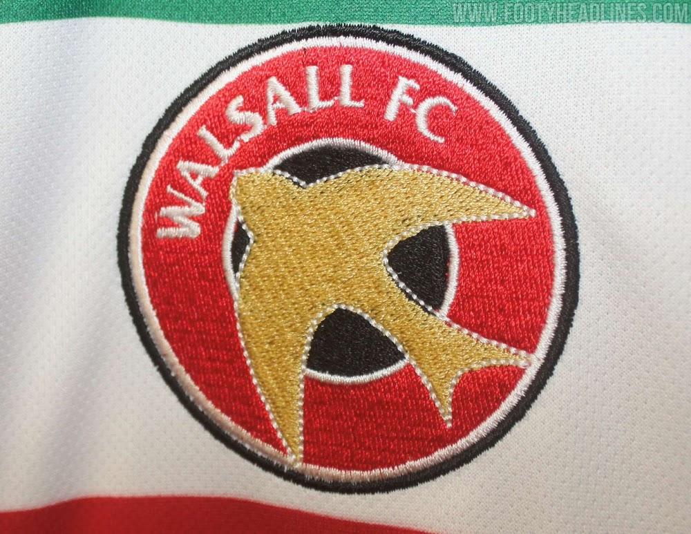 Camisetas de Local, Visitante, Tercera y de Portero del Walsall FC 2021-2022
